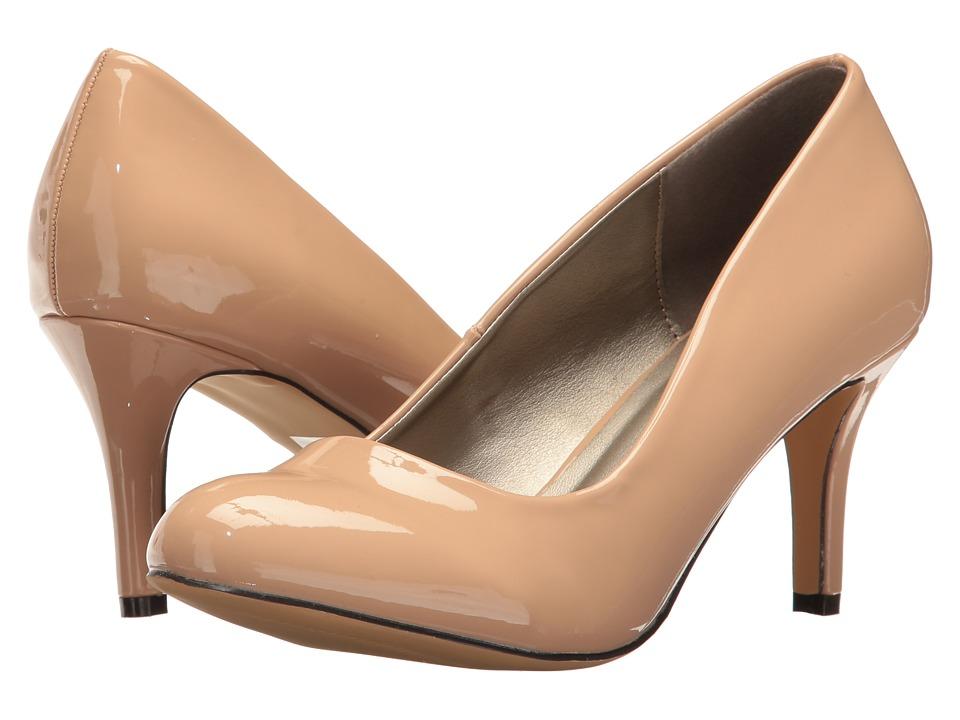 Michael Antonio - Finnea - Patent (Nude Patent 2) High Heels