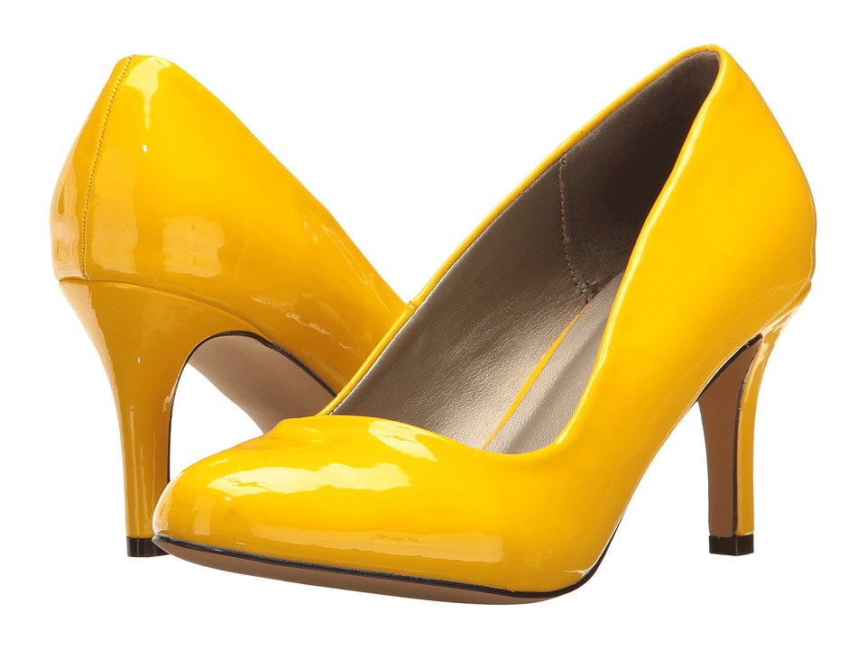 Michael Antonio Finnea Patent (Yellow Patent 2) High Heels