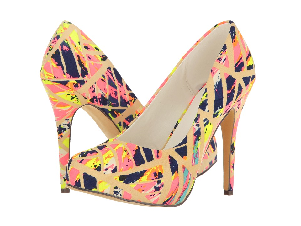 Michael Antonio - Launey - Fabric (Pink Multi Fabric) Women's Shoes