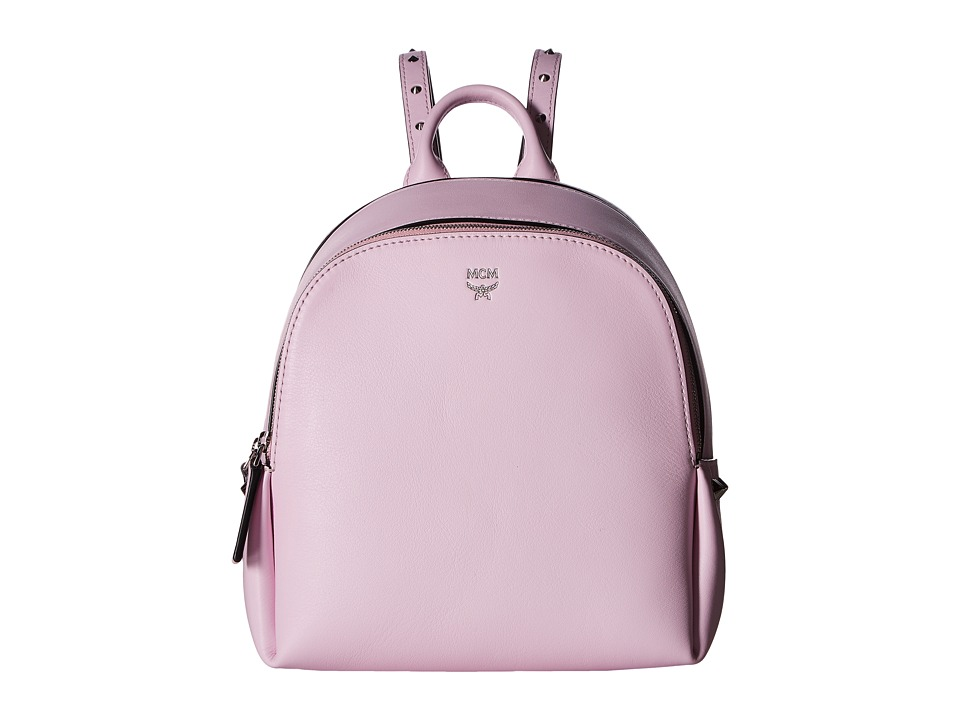 MCM - Polke Studs Mini Backpack (Prism Pink) Backpack Bags