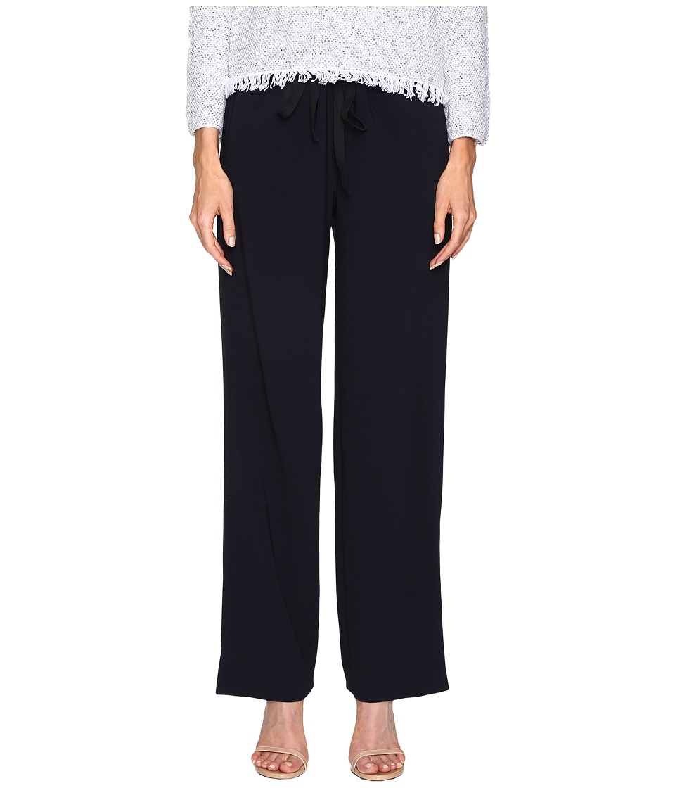 Theory - Winszlee Admiral Crepe Pants (Deep Navy) Women's Casual Pants