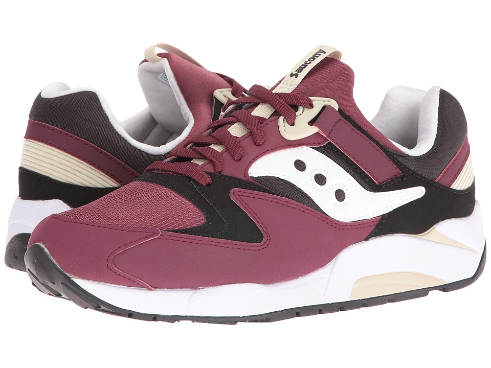 Saucony Originals - Grid 9000 (Burgundy) Men's Shoes