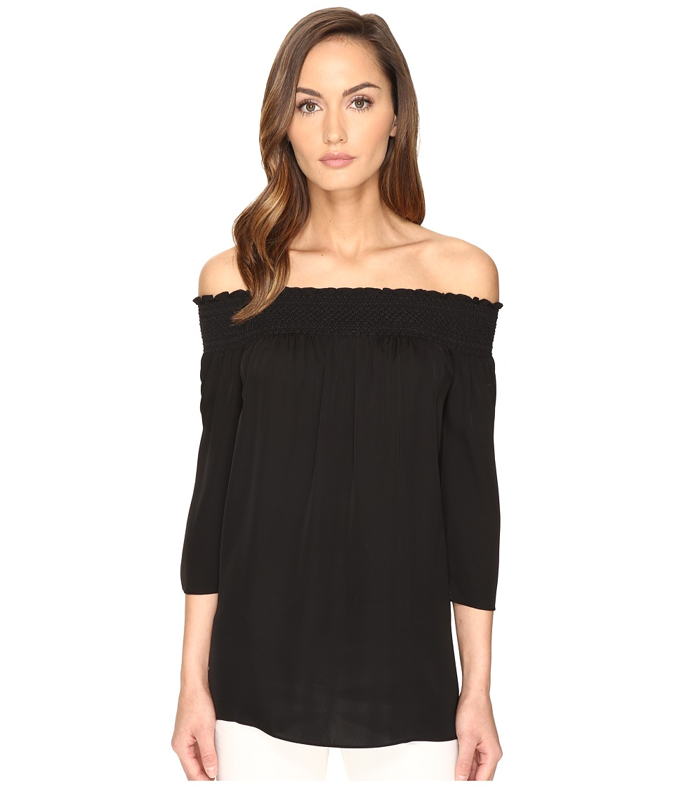 Theory - Elistaire Top (Black) Women's Clothing