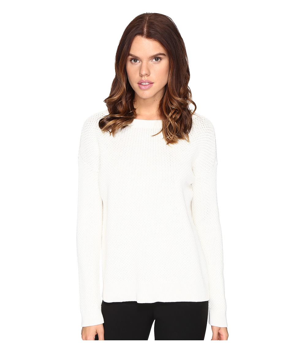 Theory - Karenia Compact Cot Top (Ivory) Women's Clothing