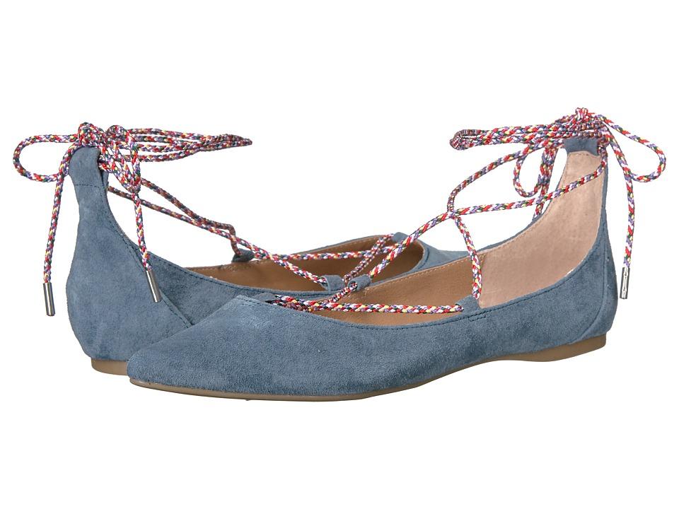 Steve Madden - Emilie (Blue Suede) Women's Slip on Shoes