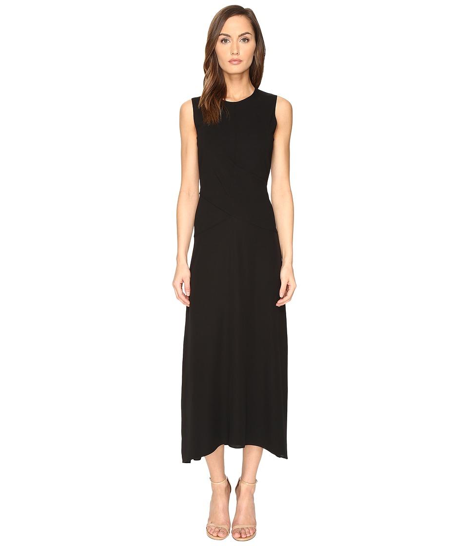 Theory - Parthenia Fixture Ponte Dress (Black) Women's Dress