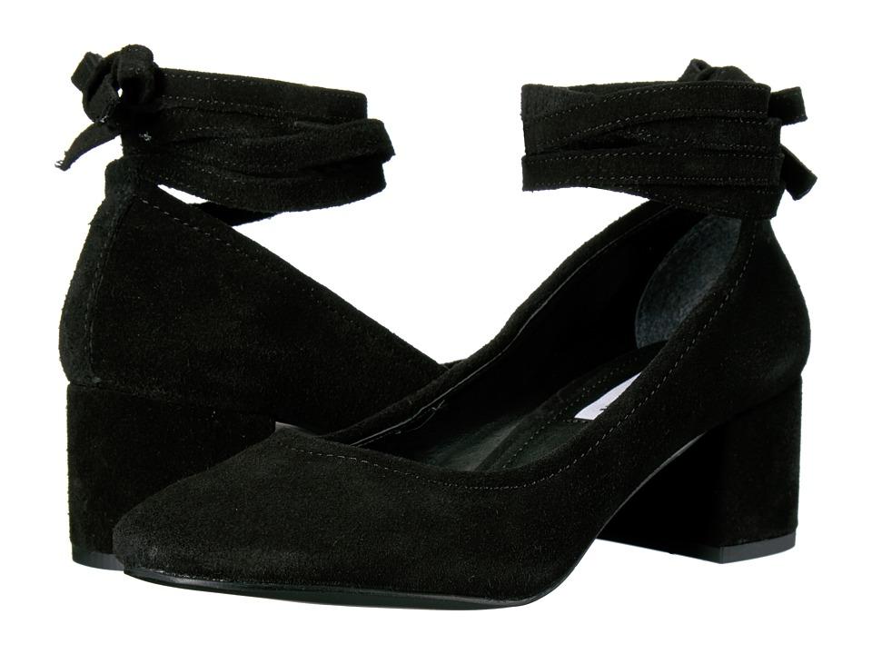 Steve Madden - Taleigh (Black Suede) High Heels
