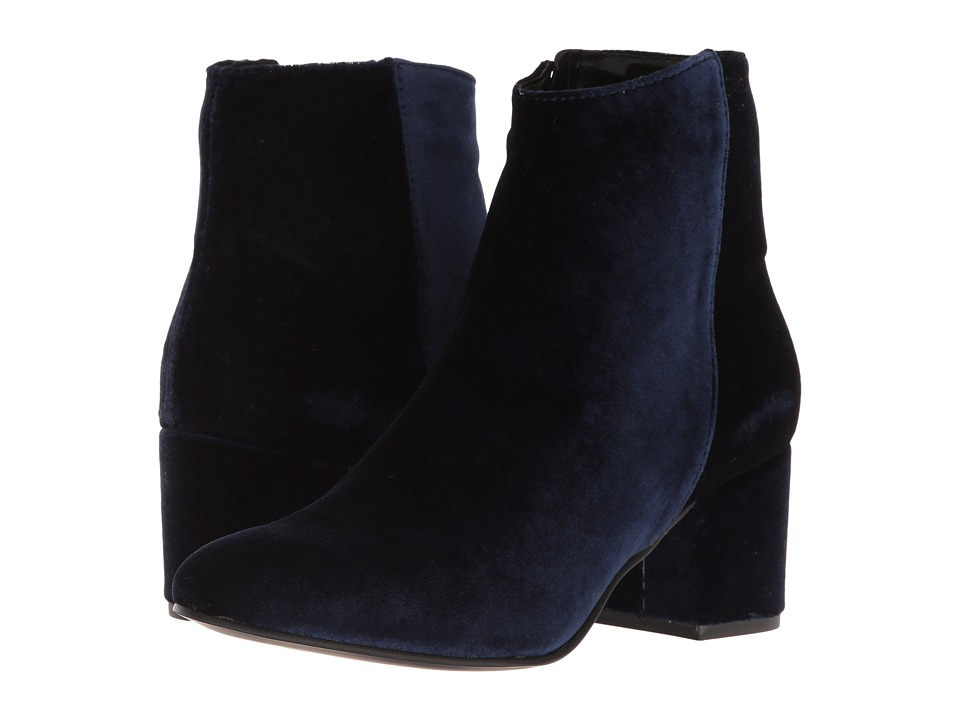 Steve Madden - Herow (Blue Velvet) Women's Dress Pull-on Boots