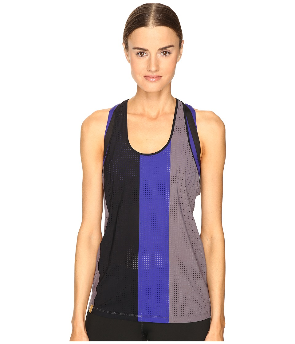 Monreal London - Racer Tank Top (Taupe/Joy/Black) Women's Sleeveless