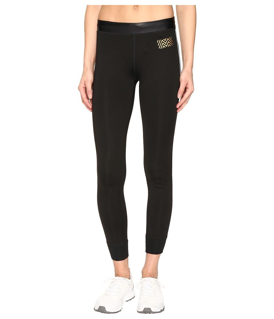 Monreal London - Athlete Leggings (Black/White) Women's Casual Pants