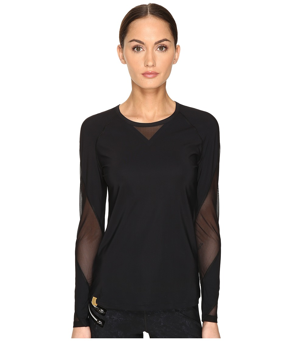 Monreal London - Waterfall Top (Black) Women's Clothing