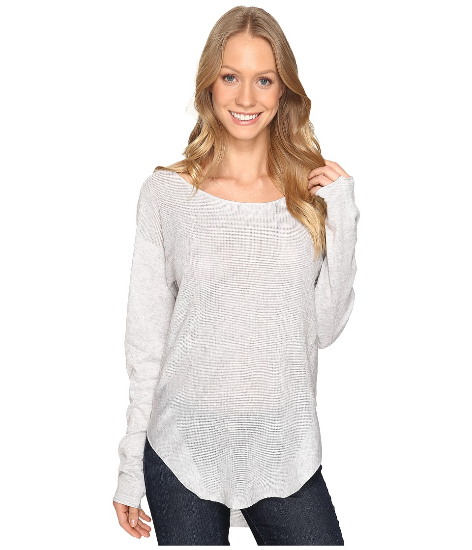 Fate - Sweater Knit Tee (Grey) Women's T Shirt