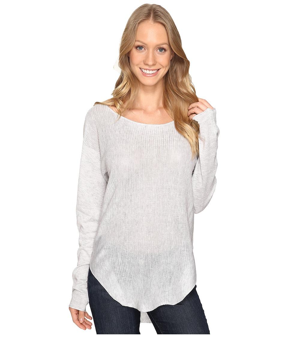 Fate - Sweater Knit Tee (Grey) Women's T Shirt