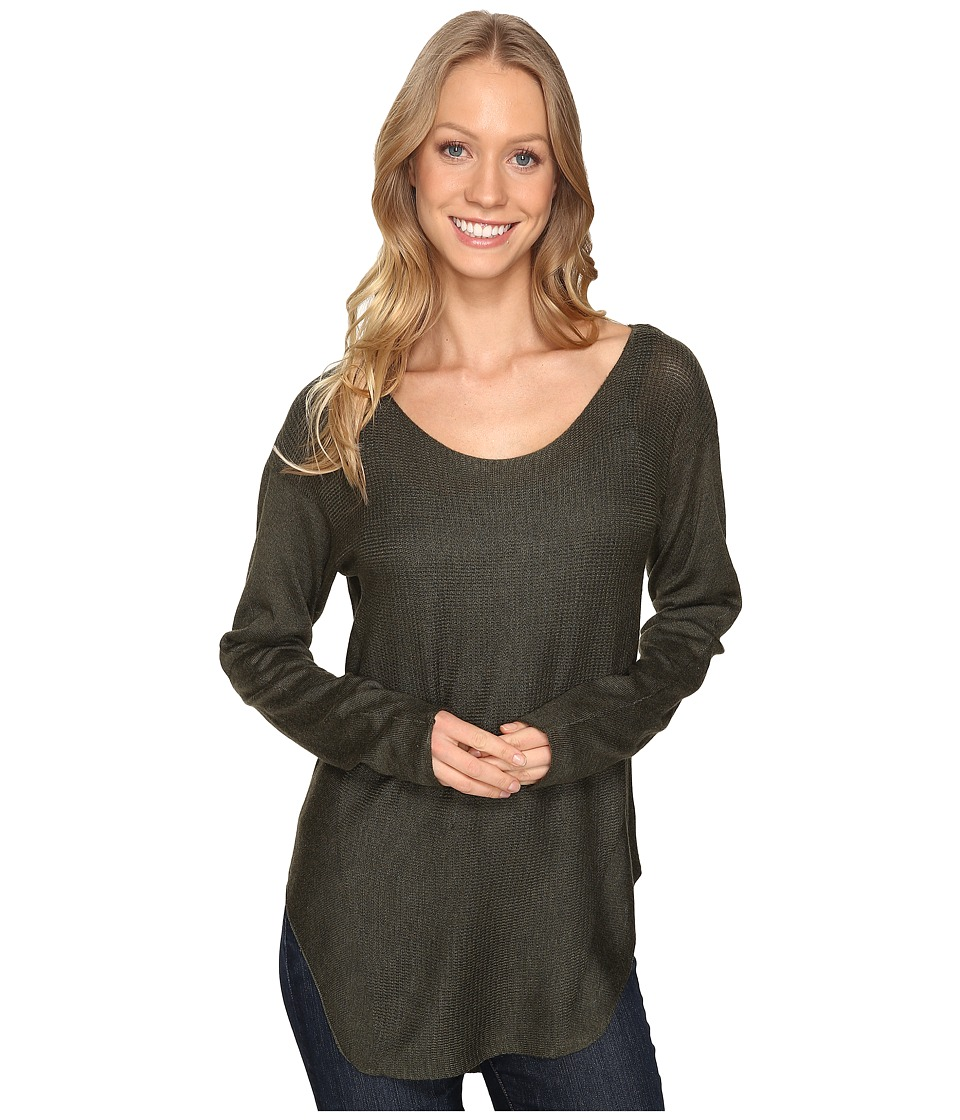 Fate - Sweater Knit Tee (Olive) Women's T Shirt