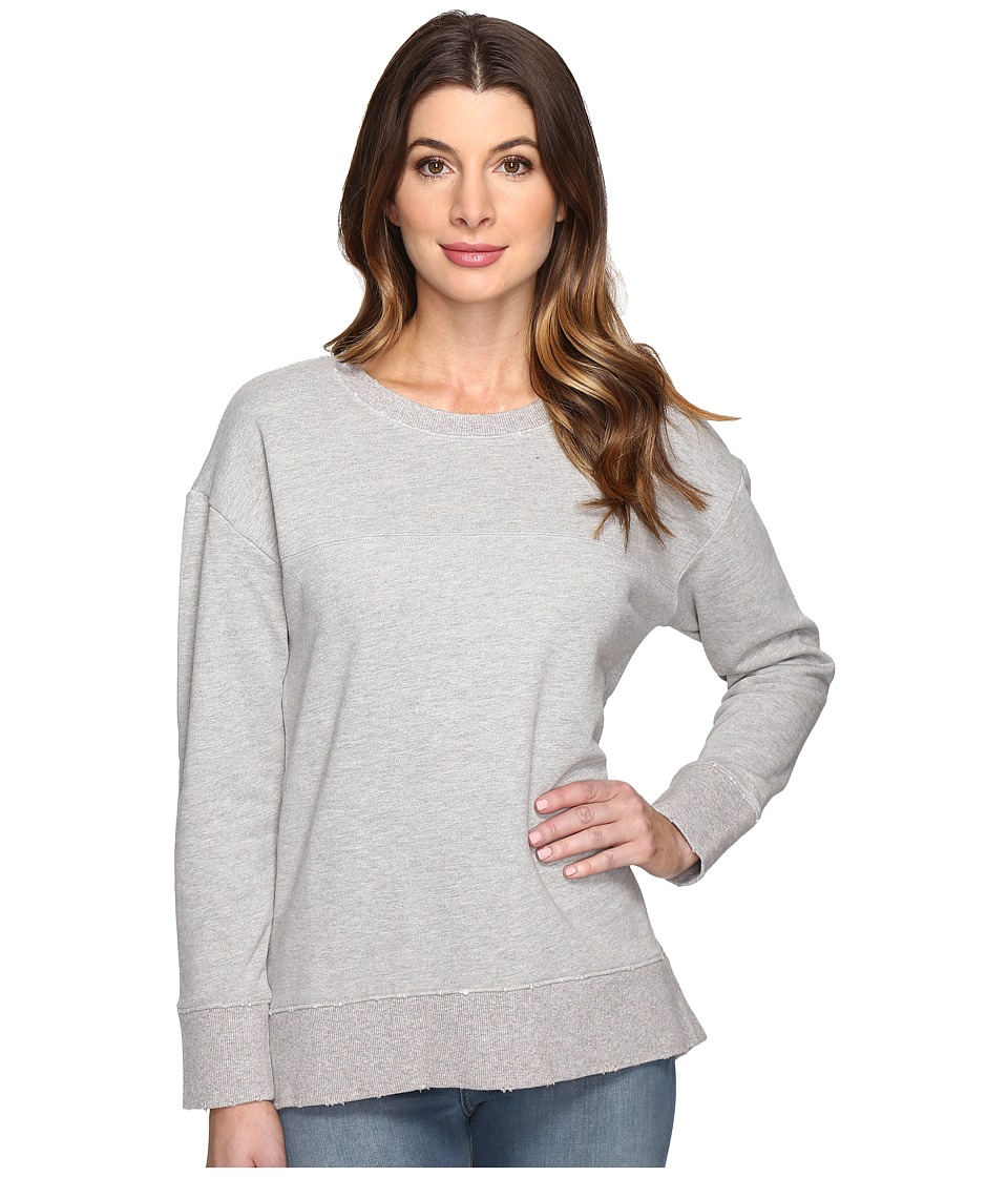 Joe's Jeans - Leira Hi Low Sweatshirt (Heather Grey) Women's Sweatshirt