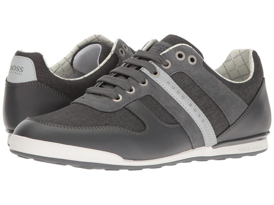 BOSS Hugo Boss - Arkansas Low Nylon Sneaker (Dark Grey) Men's Shoes