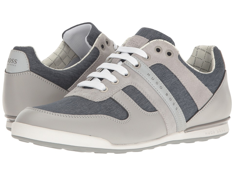 BOSS Hugo Boss - Arkansas Low Nylon Sneaker (Open Grey) Men's Shoes