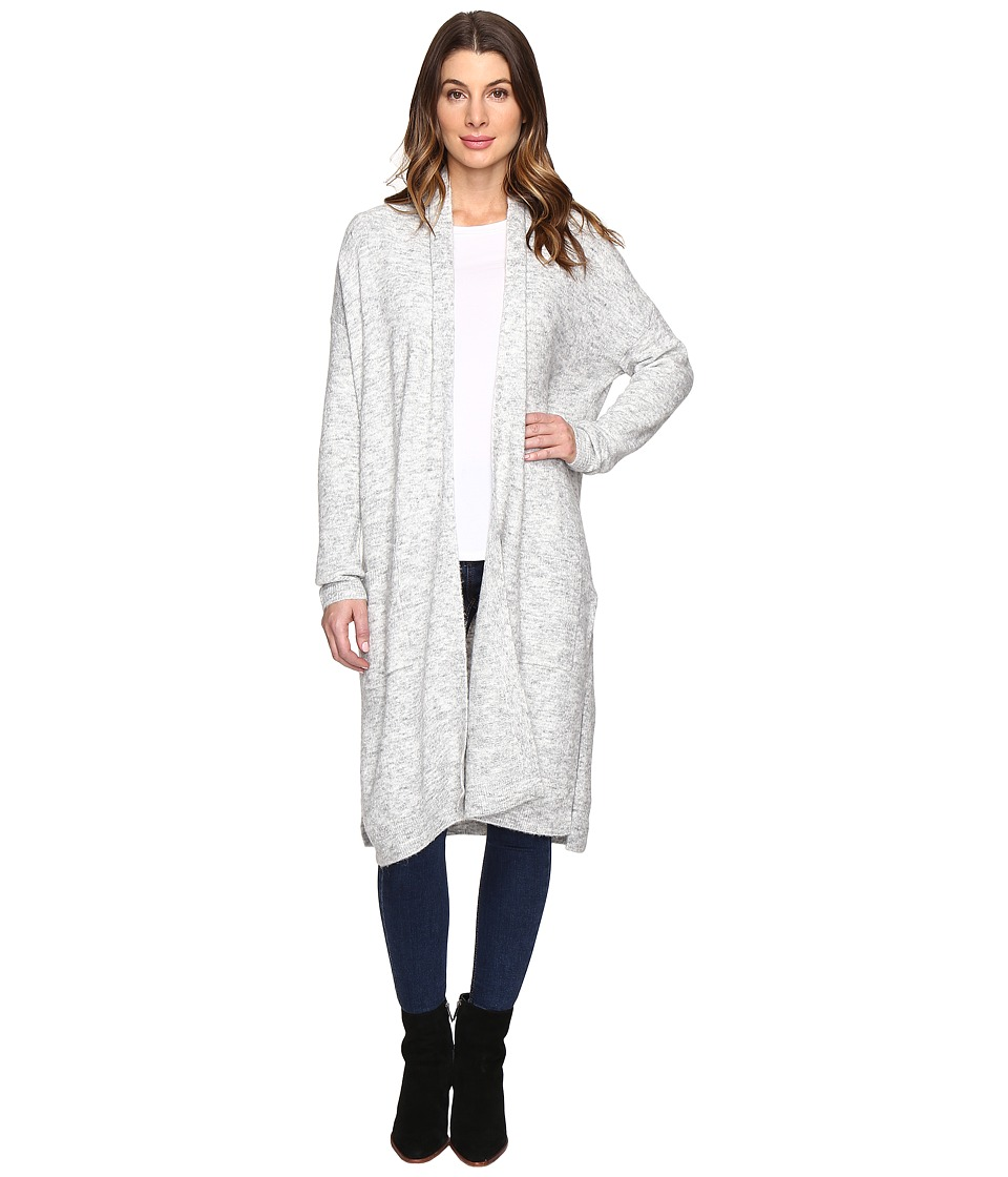 NYDJ - Cozy Cardigan (Snowcap Heather) Women's Sweater