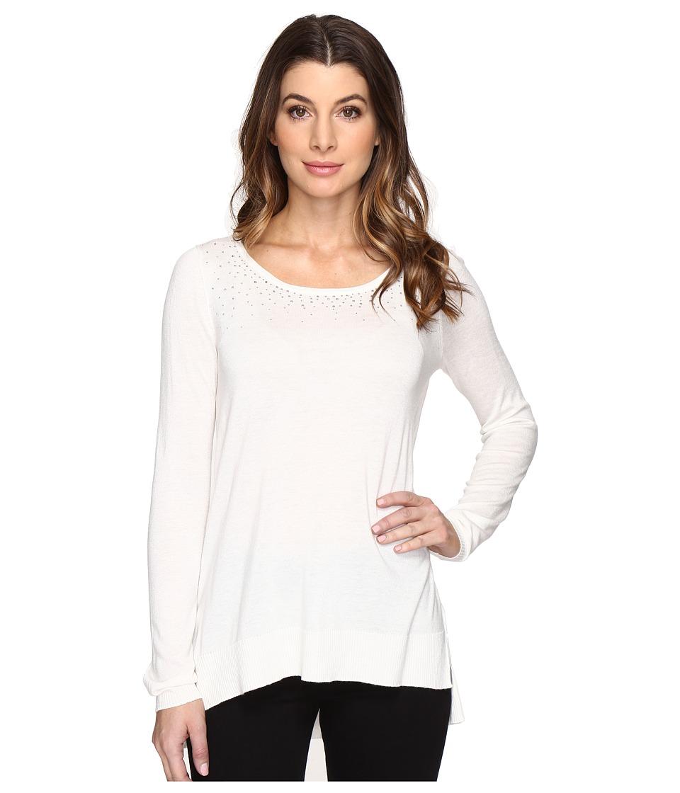 NYDJ - Rhinestone Sweater (Vanilla) Women's Sweater