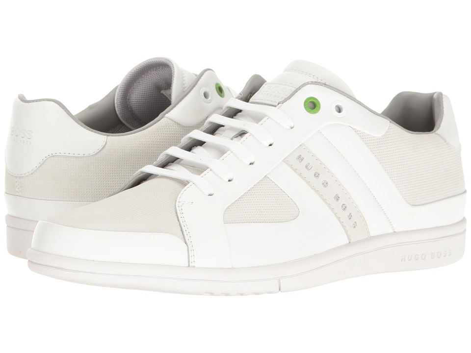 BOSS Hugo Boss - Metro Club Tenn Sneaker (White) Men's Shoes