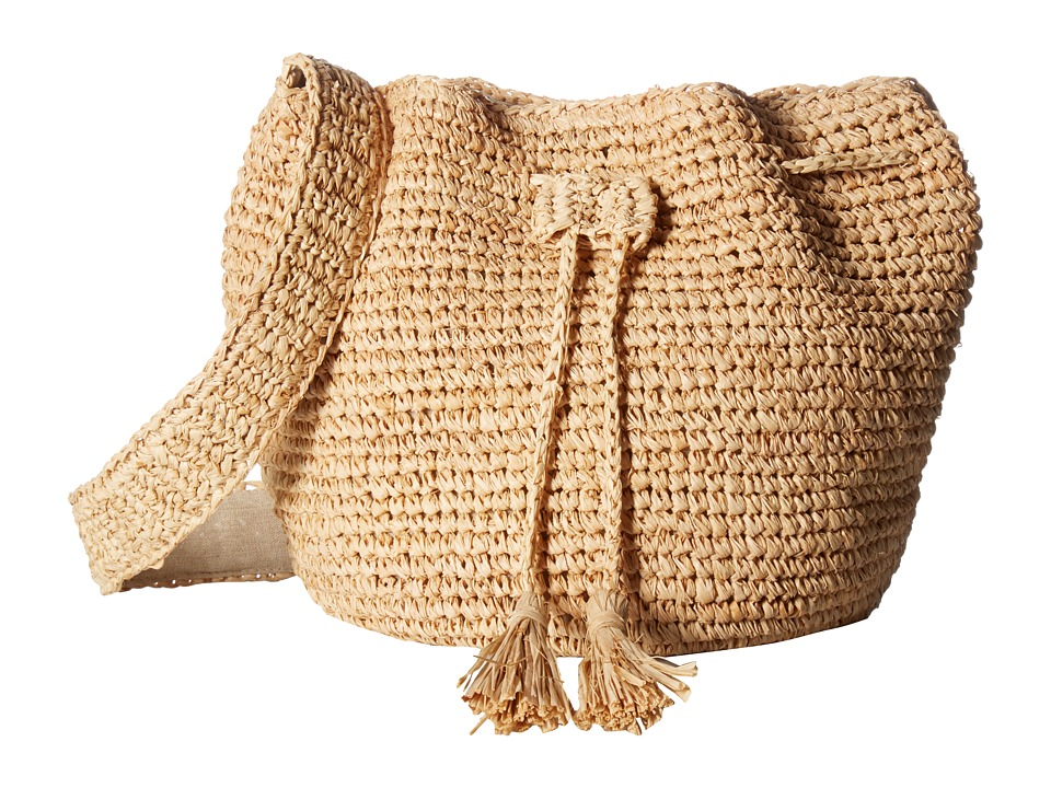 Hat Attack - Bucket Bag (Natural) Bags