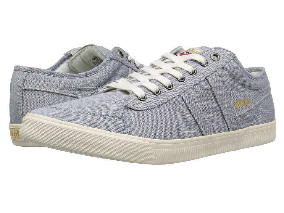 Gola - Comet Twill (Blue) Men's Shoes