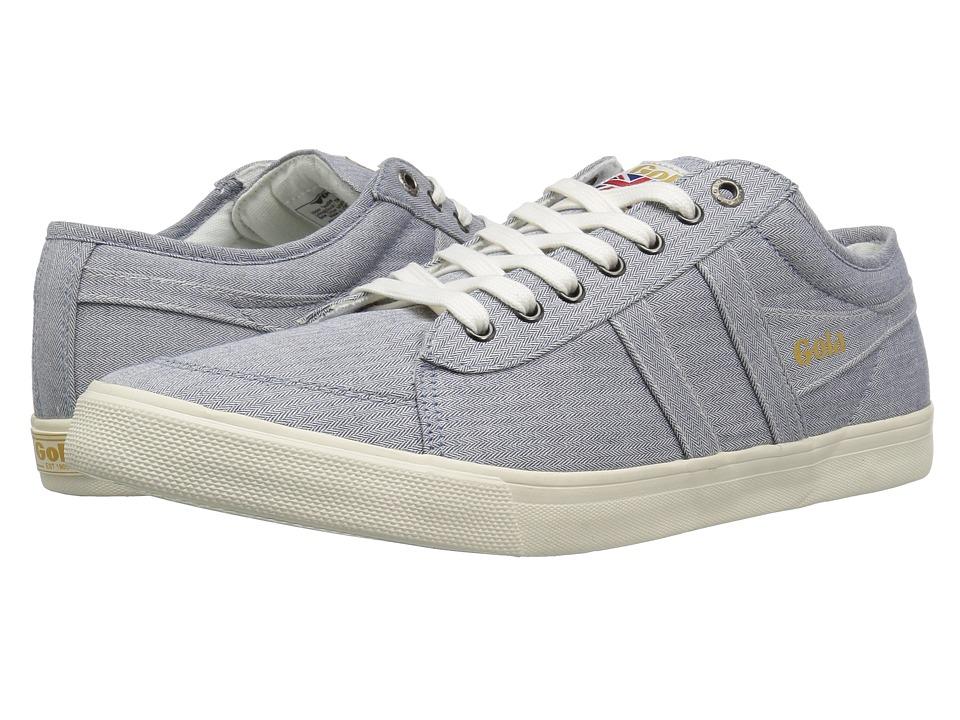 Gola - Comet Twill (Blue) Men's Shoes