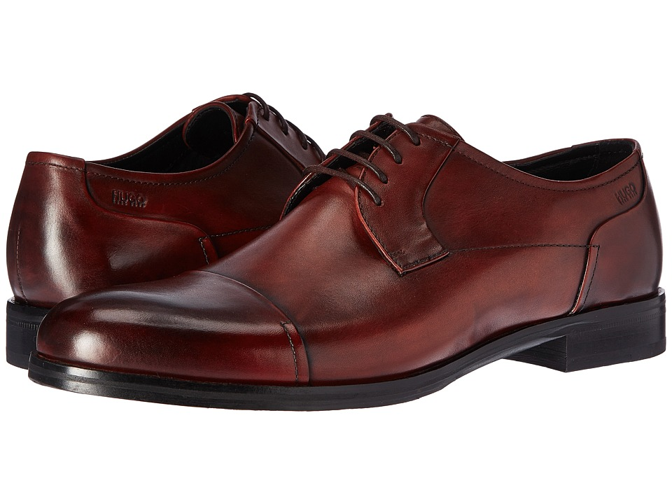 BOSS Hugo Boss Temptation Lace-Up Derby (Rust/Copper) Men