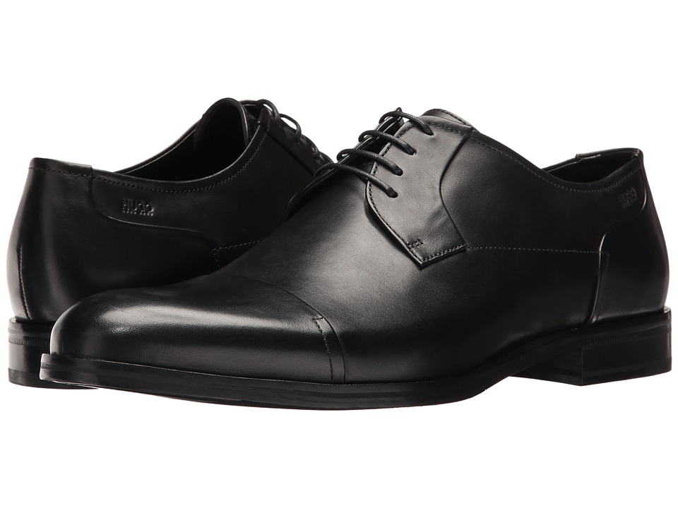 BOSS Hugo Boss Temptation Lace-Up Derby (Black) Men