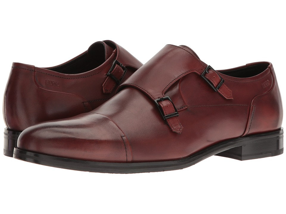 BOSS Hugo Boss - Temptation Double Monk (Rust/Copper) Men's Shoes