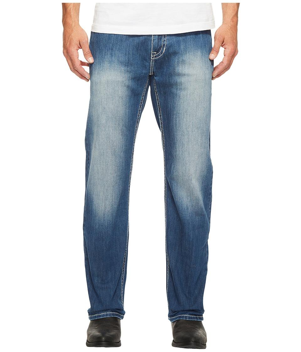 Rock and Roll Cowboy - Reflex Double Barrel in Dark Vintage M0S2405 (Dark Vintage) Men's Jeans