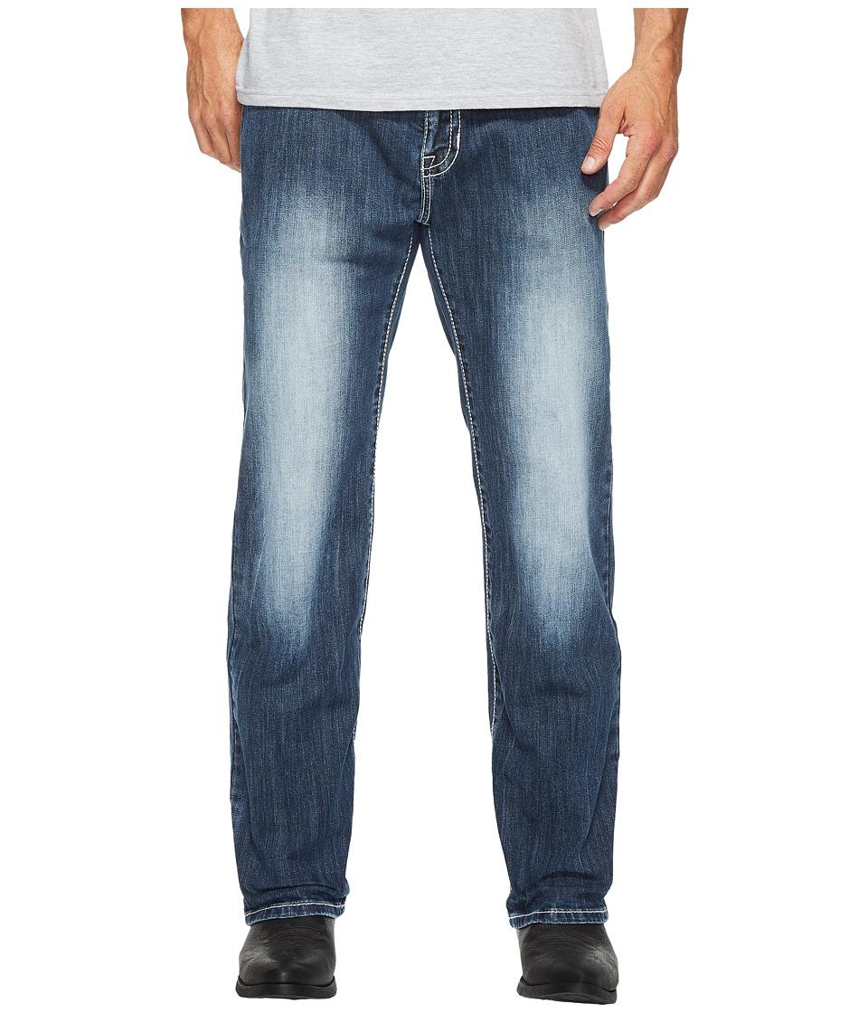 Rock and Roll Cowboy - Reflex Pistol in Dark Vintage M1P2410 (Dark Vintage) Men's Jeans