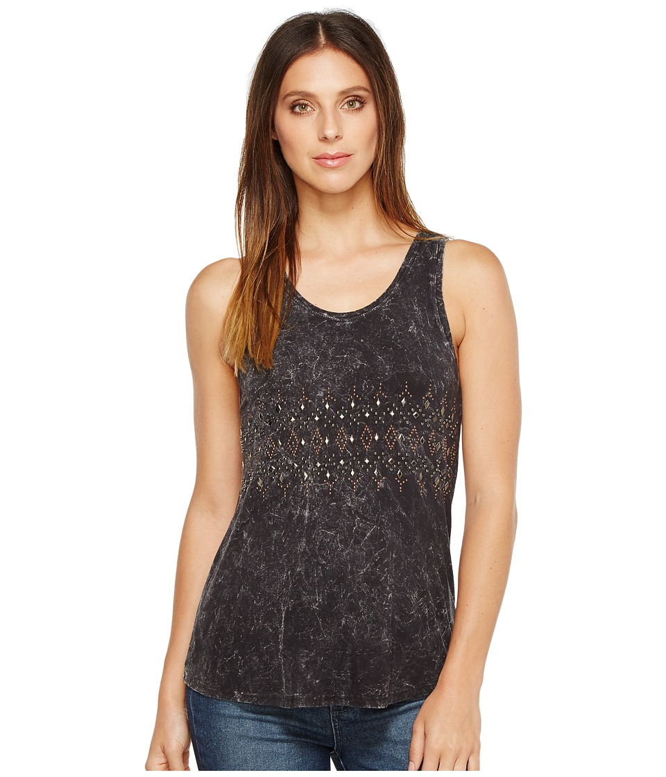 Rock and Roll Cowgirl - Tank Top 49-2114 (Black) Women's Sleeveless