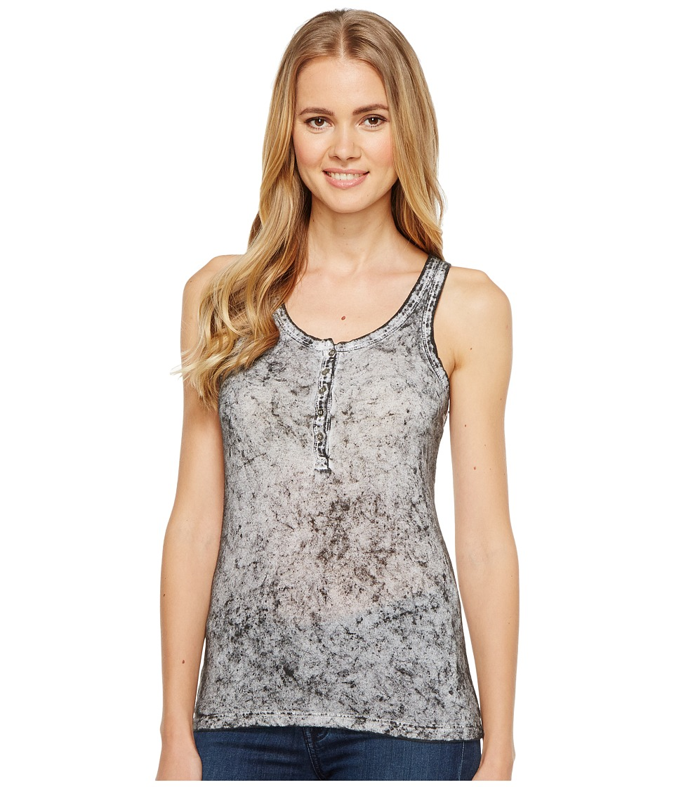 Rock and Roll Cowgirl - Tank Top 49-2115 (Grey) Women's Sleeveless