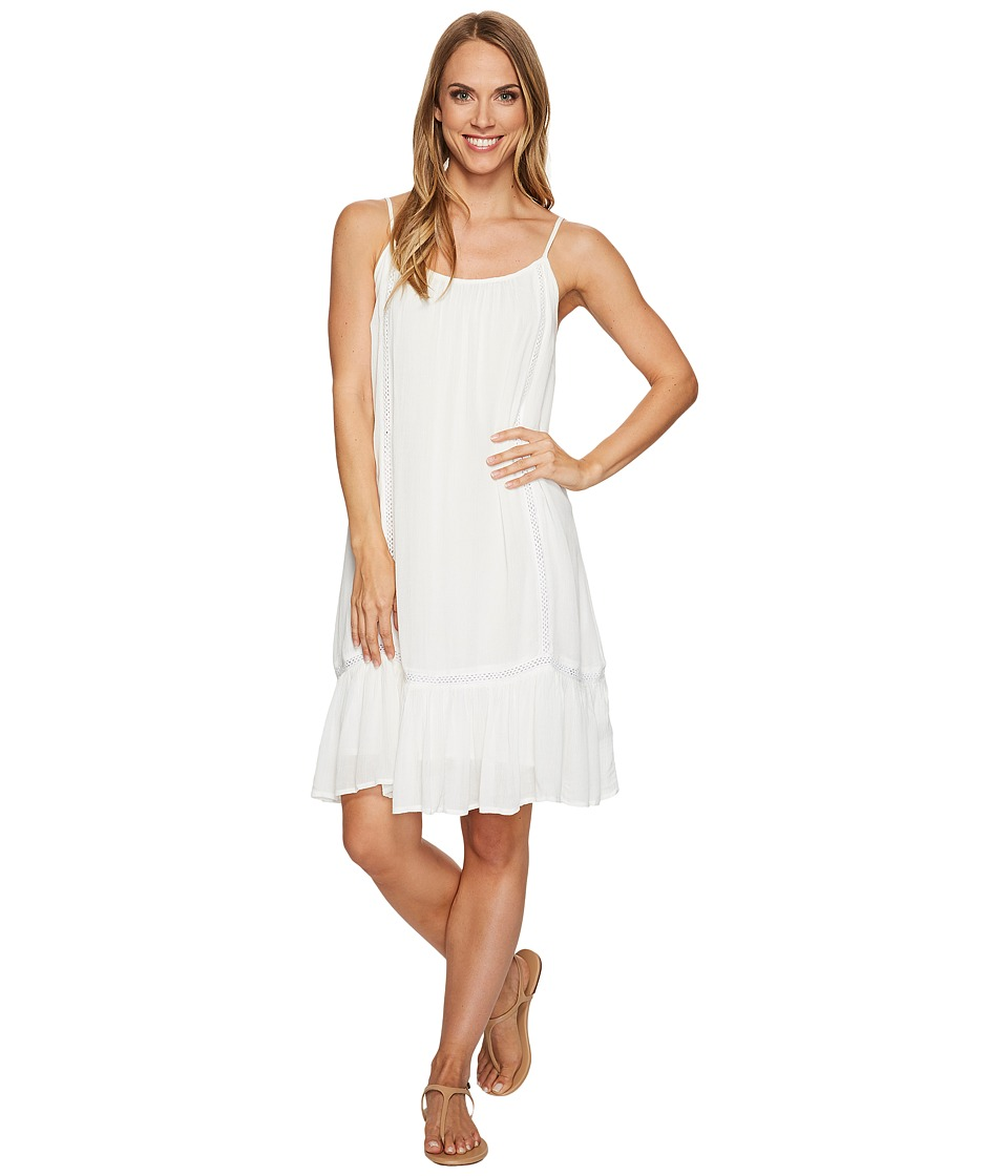 Rock and Roll Cowgirl - Straps Dress D5-2151 (White) Women's Dress