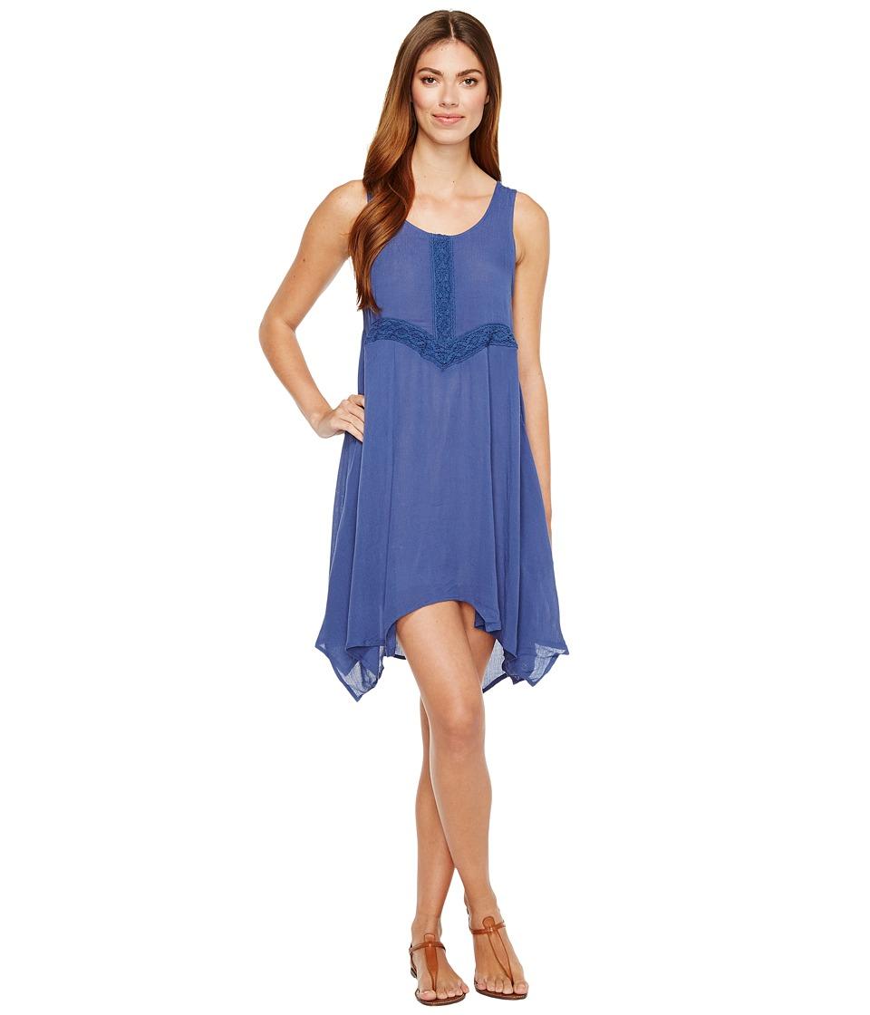 Rock and Roll Cowgirl - Sleeveless Dress D5-2152 (Navy) Women's Dress