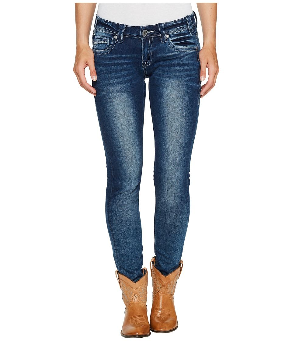 Rock and Roll Cowgirl - Low Rise Skinny in Dark Vintage W0S2326 (Dark Vintage) Women's Jeans