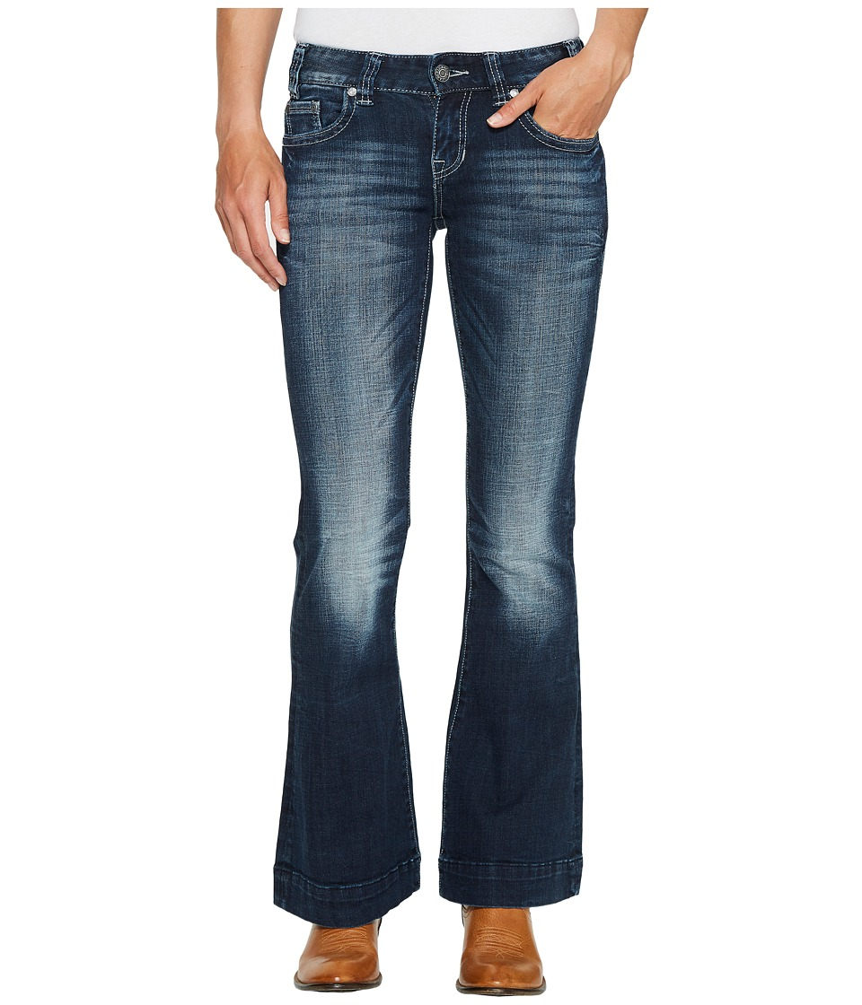 Rock and Roll Cowgirl - Trousers Bootcut in Dark Vintage W8-2340 (Dark Vintage) Women's Jeans