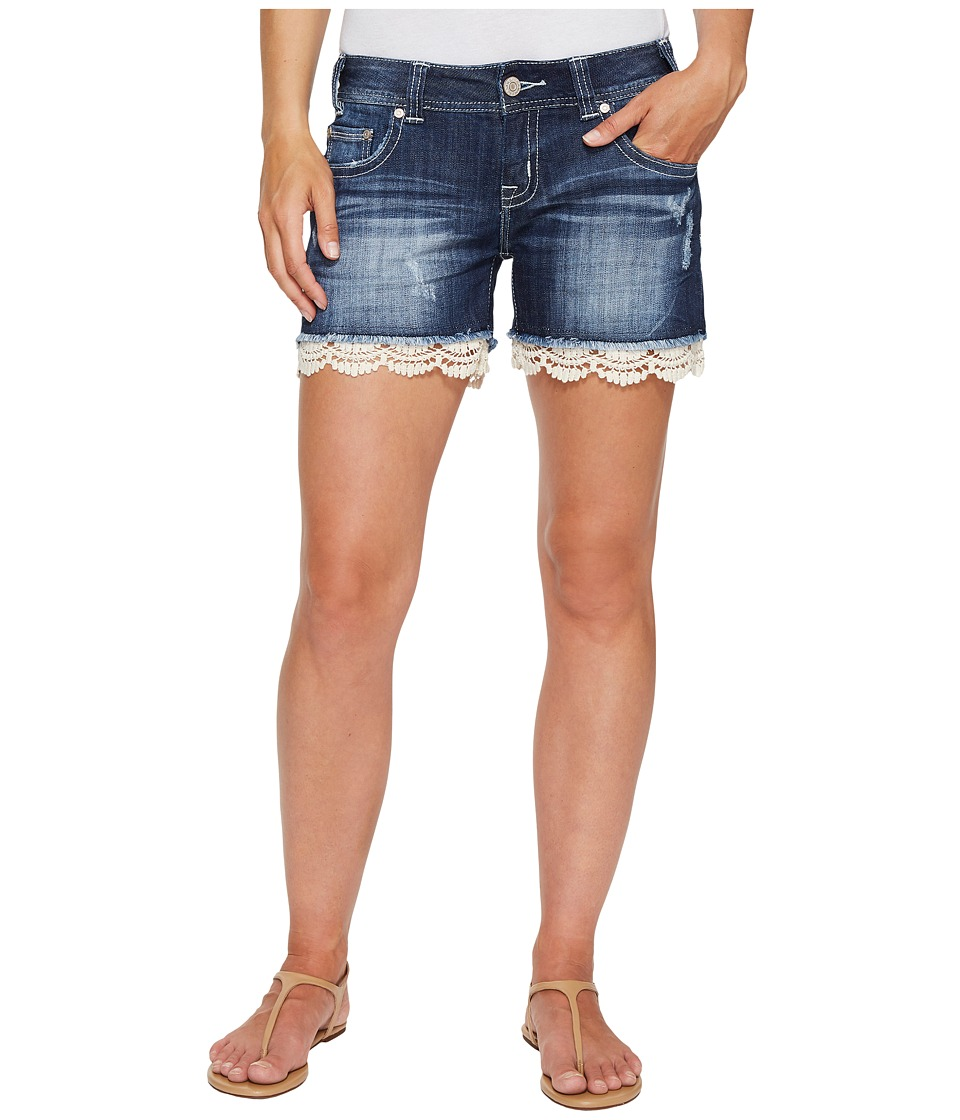 Rock and Roll Cowgirl - Low Rise Shorts in Dark Vintage 68-2342 (Dark Vintage) Women's Shorts