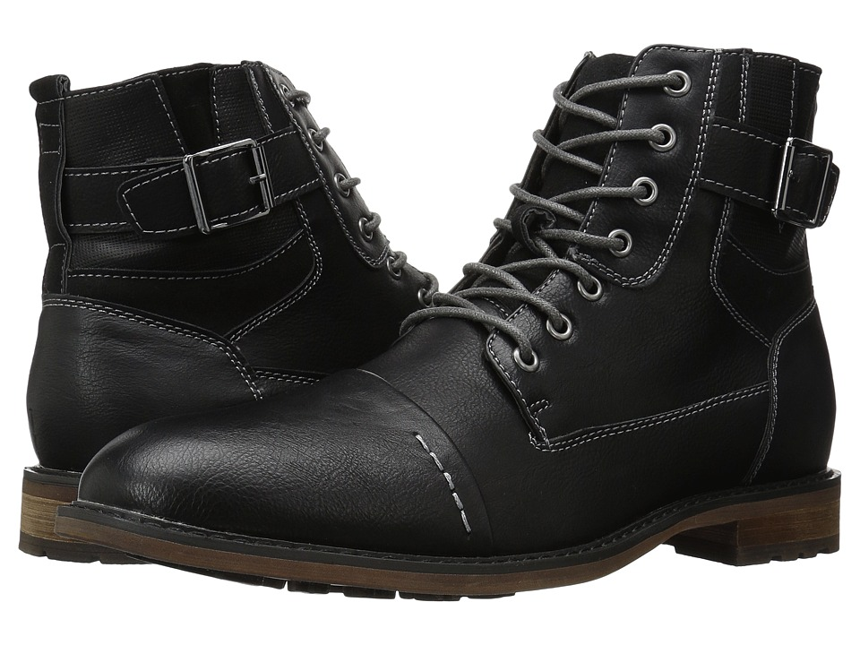 Steve Madden - Seymour (Black) Men's Shoes