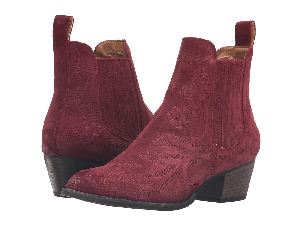 Dolce Vita - Seth (Red Suede) Women's Shoes