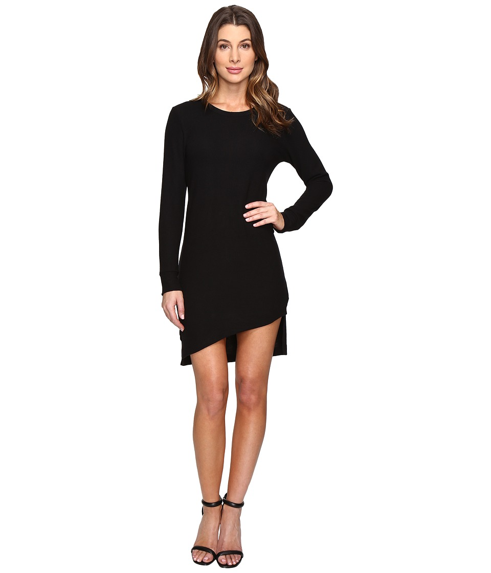 The Beginning Of - Sweatshirt Dress (Black) Women's Dress