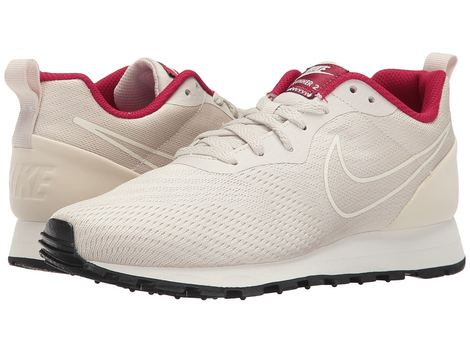 Nike - MD Runner 2 Eng Mesh (Light Orewood Brown/Light Orewood Brown/Noble Red) Women's Shoes