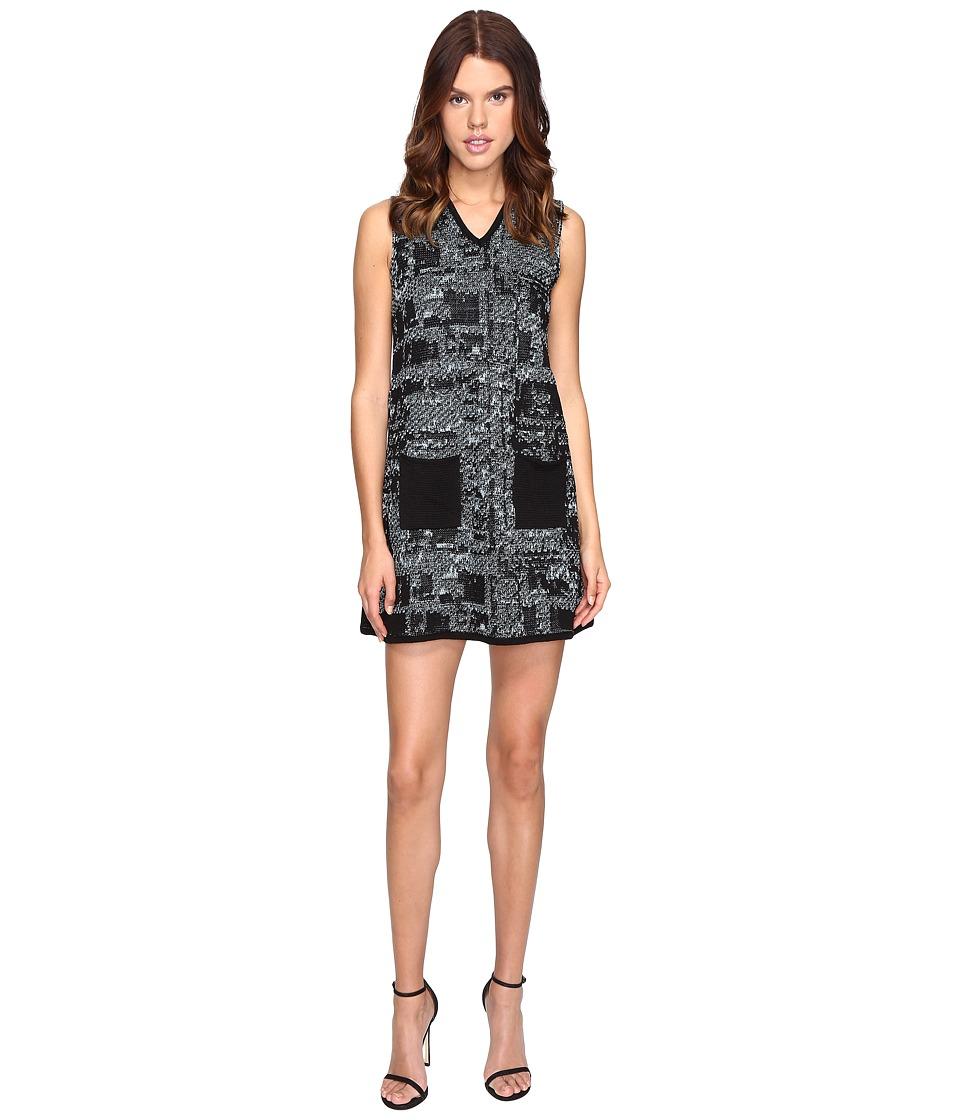 M Missoni Lurex Tweed Dress (Ice) Women