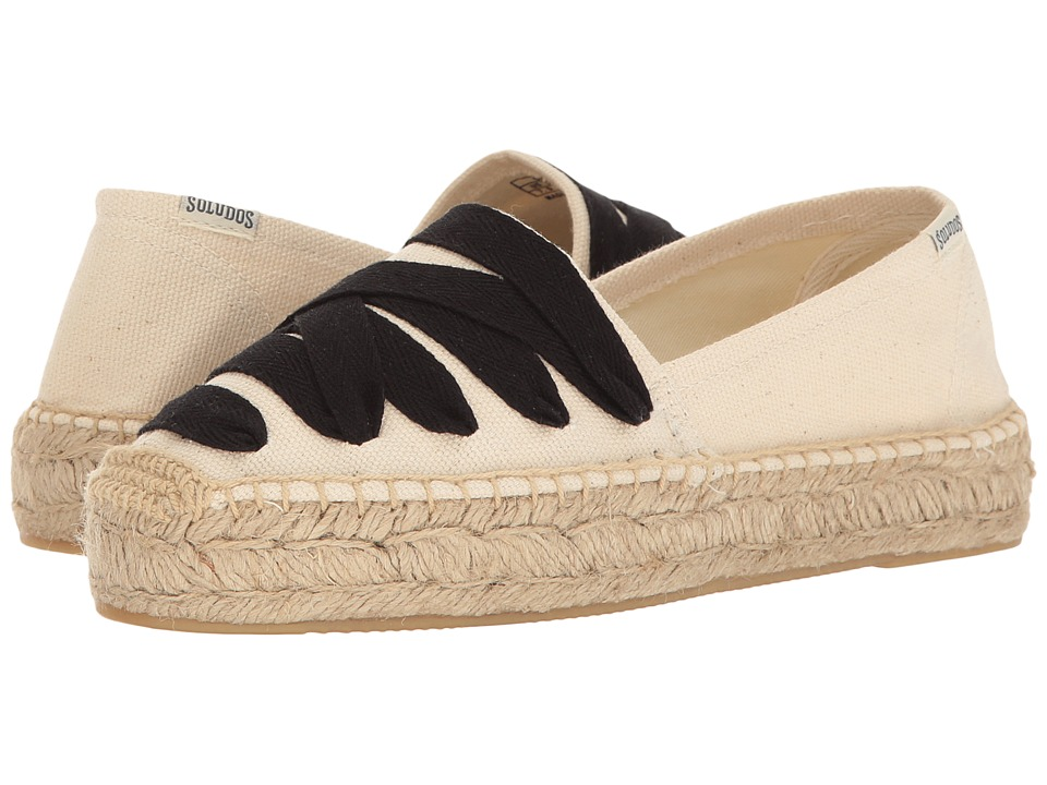 Soludos - Laced Platform Original (Natural) Women's Shoes
