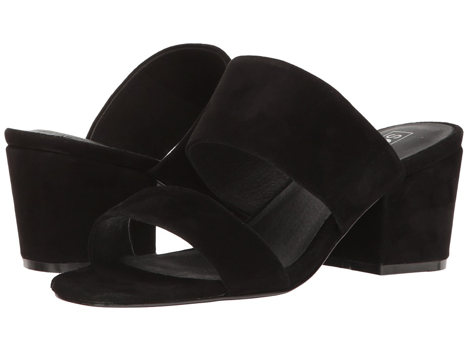 Sol Sana - Tina Mule (Black Suede) Women's Shoes