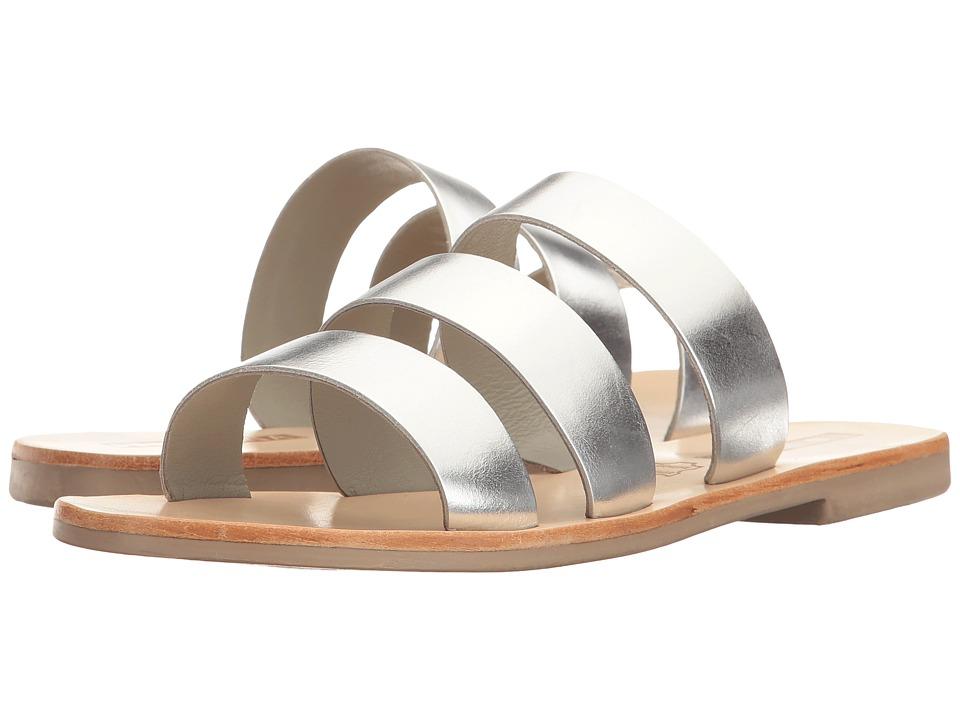 Sol Sana - Joaquin Slide (Silver) Women's Shoes