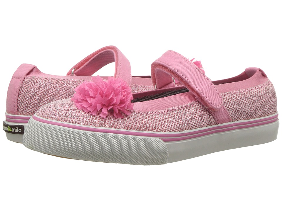 Morgan&Milo Kids - Twinkle Mary Jane (Toddler/Little Kid) (Pink) Girls Shoes