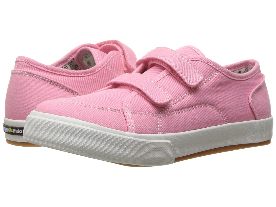 Morgan&Milo Kids - Lucy Double V (Toddler/Little Kid) (Rose) Girls Shoes