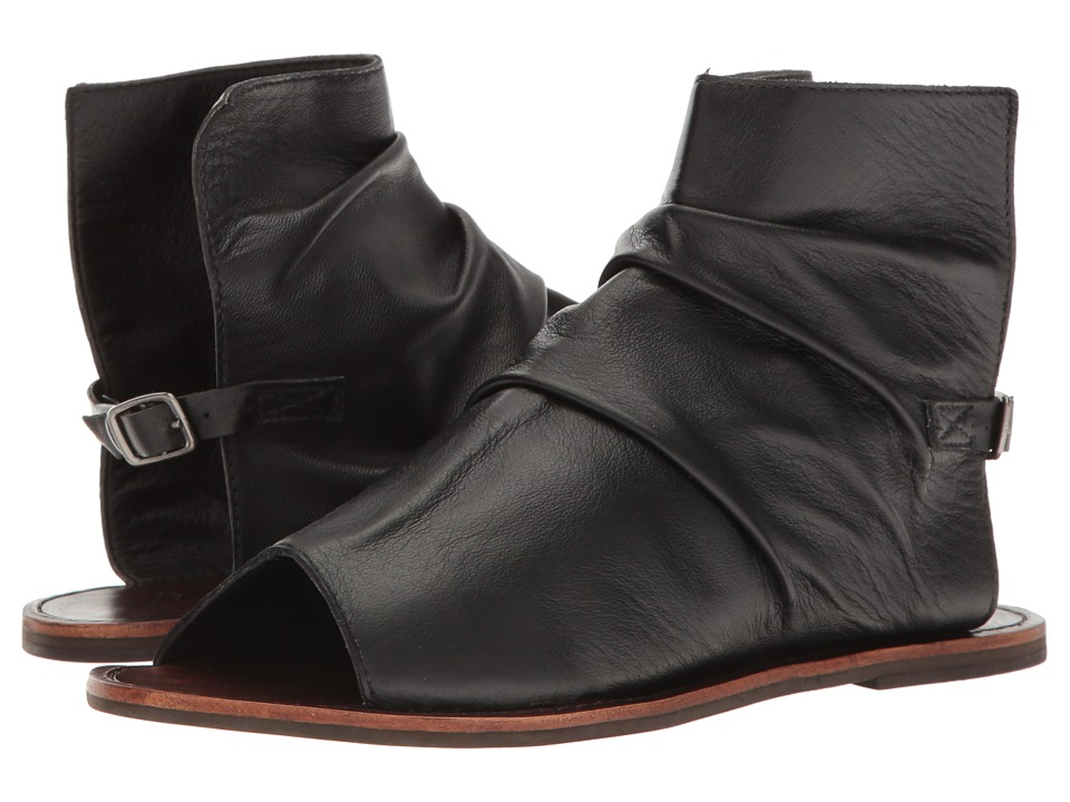 Matisse - Wesley (Black Leather) Women's Boots